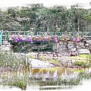 Shorey Park Bridge I Art Print