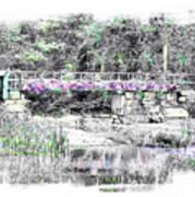 Shorey Park Bridge II Art Print