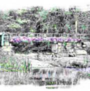Shorey Park Bridge Art Print