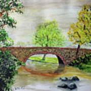 Shortcut Bridge Art Print