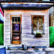Shotgun House Number 3 Art Print