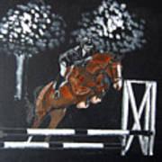 Show Jumper Art Print