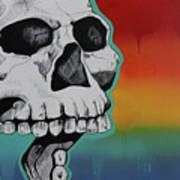 Show Me Your Teeth Art Print