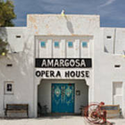 Show Tonight Amargosa Opera House Art Print