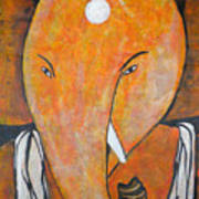 Shree Ganesh Art Print