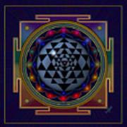 Shri Yantra Art Print