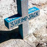 Shrimp Jack Art Print