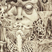 Shudders Art Print