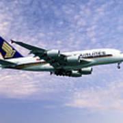 Sia A380 9v-ska Art Print