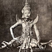 Siam: Dancer, C1870 Art Print