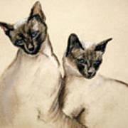 Sibling Love Art Print