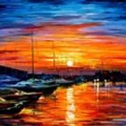 Sicily - Harbor Of Syracuse Art Print