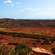 Sicily Landscape Art Print
