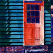 Side Door Art Print