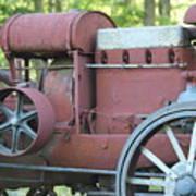 Side Of Mccormic Deering Tractor   # Art Print