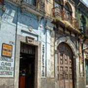 Side Street Homes Antiqua Guatemala 3 Art Print