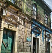 Side Street Homes Antiqua Guatemala 5 Art Print