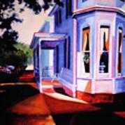 Side Street - Lambertville Art Print