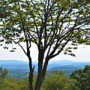 Sideling Hill Lookout  Art Print