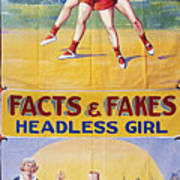 Sideshow Poster, C1975 Print by Granger