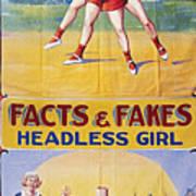 Sideshow Poster, C1975 Art Print