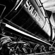 Sideways Train Art Print