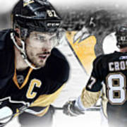 Sidney Crosby Artwork Art Print