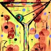 Sidzart Pop Art Martini This Is Sooo Mine Art Print