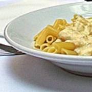 Siena-3-pasta With Four Cheeses Art Print
