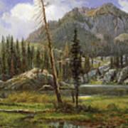 Sierra Nevada Mountains Art Print
