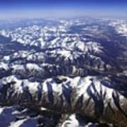 Sierra Nevada Range Art Print