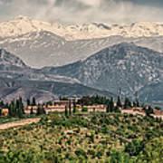 Sierra Nevada View Art Print