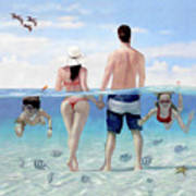Siesta Beach Resort And Spa Mural Art Print