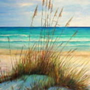Siesta Key Beach Dunes  Art Print