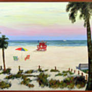 Siesta Key Beach Morning Art Print
