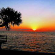 Siesta Key Sunset 2 Art Print