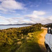 Sightseeing Southern Tasmania Art Print