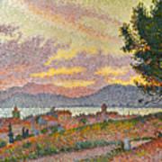 Signac: St Tropez, 1896 Art Print