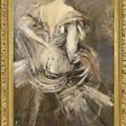 Signora Bruna In Abito Da Sera 1892 94 Giovanni Boldini Art Print