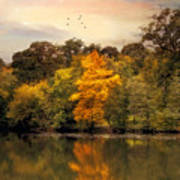 Signs Of Autumn  Art Print