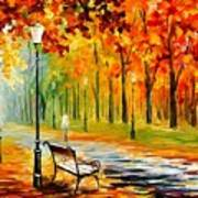Silence Of The Fall Art Print