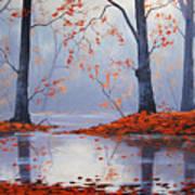 Silent Autumn Art Print