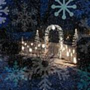 Silent Night Snow Art Print