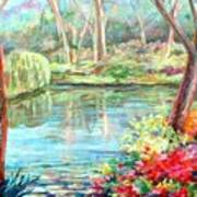 Silent Pond Art Print