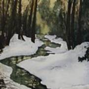 Silent Snow Art Print