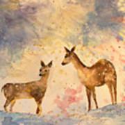 Silent Visitors Art Print