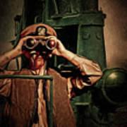 Silent Warriors Of World War 2 Oil Art Print