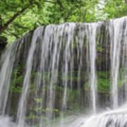 Silky Waterfalls Art Print