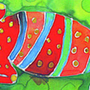 Silky Gecko Art Print