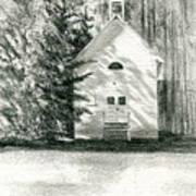Silver City Church Art Print